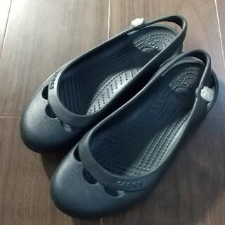 クロックス(crocs)のメイ様専用 クロックス  サンダル  ブラック   W6  23.5cm程度(サンダル)
