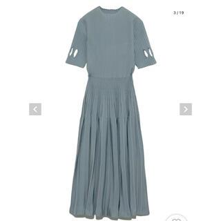 FRAY I.D - セルフォード ダイヤスリットニットドレス