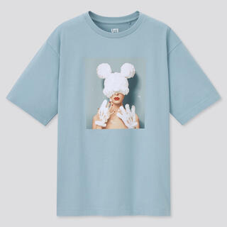 UNIQLO - UNIQLO ディズニー ミニー 吉田ユニ グラフィックTシャツ 半袖
