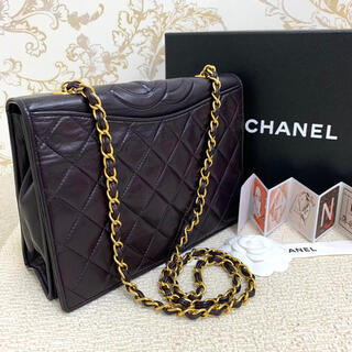 CHANEL - ✴︎美品 CHANEL * シャネル 斜めがけ チェーン ショルダーバッグ