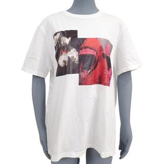 ディオールオム(DIOR HOMME)のディオール・オムトップス フランソワバール Tシャツ 白 40802005528(Tシャツ/カットソー(半袖/袖なし))