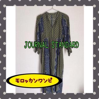 JOURNAL STANDARD - ジャーナルスタンダード モロッカンプリント ヴィンテージライクワンピーピース