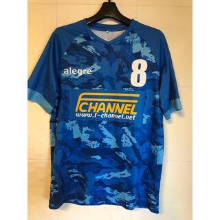 【美品】サッカーユニフォーム フットサルゲームシャツ Mサイズ