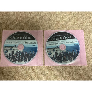SEVENTEEN - 【美品】SEVENTEEN★Ode to You in JAPAN DVD2枚組