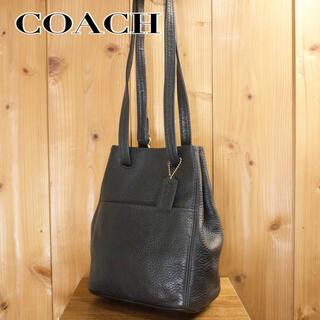 COACH - 【美品】COACH オールドコーチ ショルダーバッグ レザー 2way ブラック