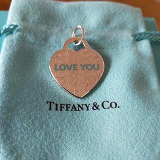 Tiffany & Co. - 未使用 ティファニー シルバー チャーム