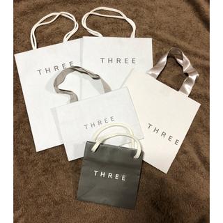 THREE - THREE ショッパー 4点セット