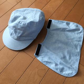 ムジルシリョウヒン(MUJI (無印良品))の無印良品 MUJI  帽子 54cm(帽子)