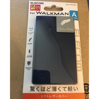 エレコム(ELECOM)のエレコム WALKMAN A40、A30シリーズ用薄型ソフトレザーケース ブルー(その他)