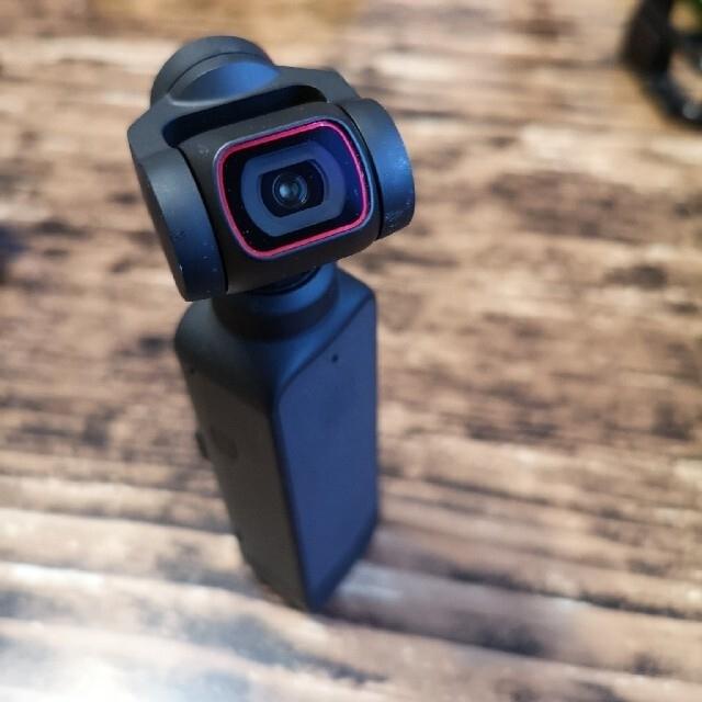 【マリカス様専用】DJI Pocket2 + 純正広角レンズ スマホ/家電/カメラのカメラ(ビデオカメラ)の商品写真