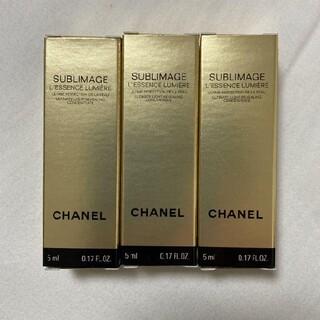 CHANEL - 未使用 シャネル サブリマージュレサンスルミエール 5ml サンプル4個 美容液
