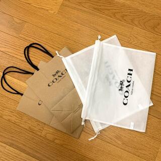 コーチ(COACH)の【COACH】ショッパー 2セット(ショップ袋)