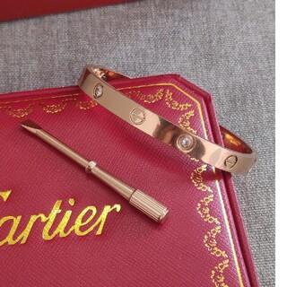 Cartier - お勧め!カルティエ ブレスレット 17cm Cartier 刻印 男女兼用