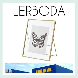 イケア(IKEA)の新品未使用【IKEA】LERBODA 写真立て フォトフレーム*おまけ付き*(フォトフレーム)