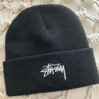 STUSSY - STUSSY  ニット帽 黒