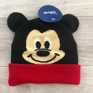 ミッキーマウス(ミッキーマウス)のニット帽 ミッキーマウス 新品(帽子)