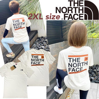 THE NORTH FACE - ノースフェイス Tシャツ 半袖 バックロゴ NF0A7R45 スライス 2XL