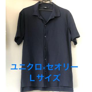 UNIQLO - UNIQLO Theory コラボシャツ Lサイズ