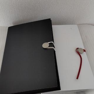 フランフラン(Francfranc)のFrancfranc ファイル 白 黒2冊セット(ファイル/バインダー)