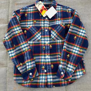 HYSTERIC MINI - ヒスミニ 刺繍 シャツ