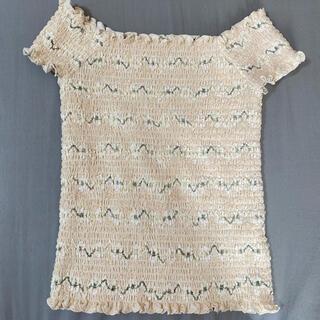 ダズリン(dazzlin)のダズリン*花柄オフショル(Tシャツ(半袖/袖なし))