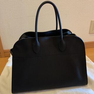 ドゥロワー(Drawer)のTHE ROW ザロウ SOFT MARGAUX 15 マルゴー15 ブラック(ハンドバッグ)