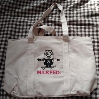 ミルクフェド(MILKFED.)の∴ミニヨンズ帆布リバーシブルトートバッグ MILKFED 未使用(トートバッグ)