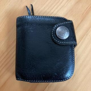 レッドムーン(REDMOON)のレッドムーン 二つ折り 折り畳み 折り財布 財布 ウォレット レザー (折り財布)