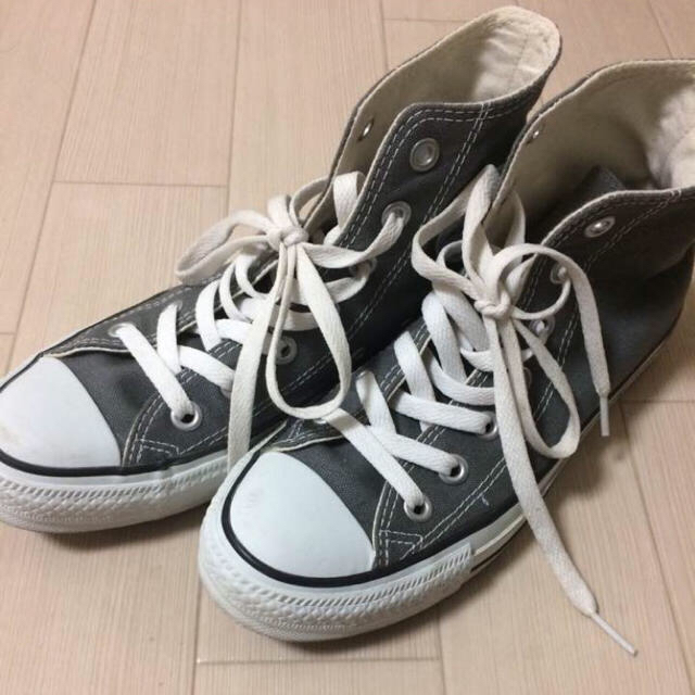 CONVERSE(コンバース)のコンバース ハイカット グレー レディースの靴/シューズ(スニーカー)の商品写真