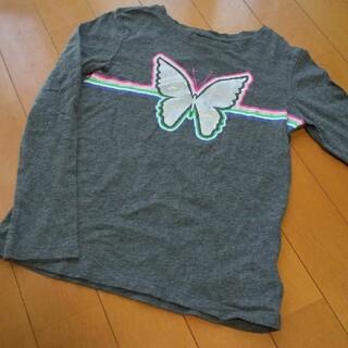 ベビーギャップ(babyGAP)のBabyGap ちょうちょ 長袖カットソー 120.(Tシャツ/カットソー)