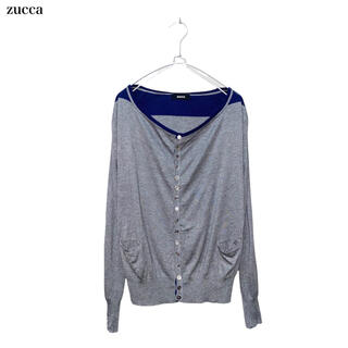 ズッカ(ZUCCa)の【zucca】ニットカーディガン ズッカ(カーディガン)