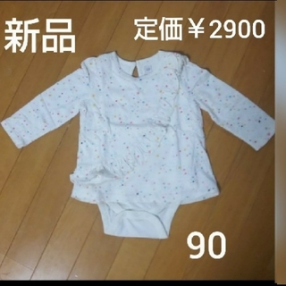 ベビーギャップ(babyGAP)の 新品☆ベビーギャップ カットソー ロンパース(Tシャツ/カットソー)