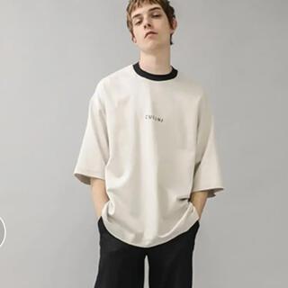ステュディオス(STUDIOUS)のcullni  ロゴTシャツ(Tシャツ/カットソー(半袖/袖なし))