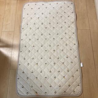 フタフタ(futafuta)のテータテート タンポポ柄 敷きパッド 70×120cm(敷パッド)