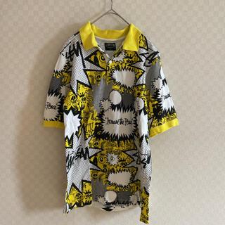 ステューシー(STUSSY)のstussy ポロシャツ 半袖  (ポロシャツ)