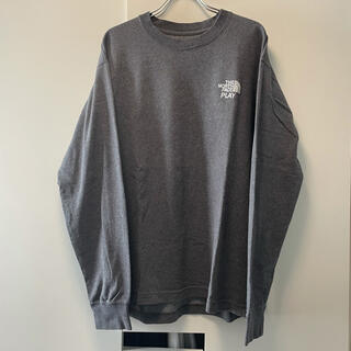 THE NORTH FACE - THE NORTH FACE PLAY限定 別注 L/S Tシャツ L グレー