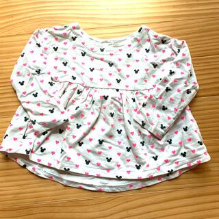 ベビーギャップ(babyGAP)のbabyGAP ベビーキャップ ディズニー フレア カットソー 長袖 女の子 (Tシャツ/カットソー)