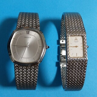 SEIKO - 大人気 セイコークレドール 男女腕時計ペア 稼働品