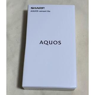 AQUOS - AQUOS sense4 lite ブラック