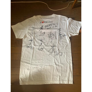 ハンシンタイガース(阪神タイガース)の阪神タイガースサインTシャツ(応援グッズ)