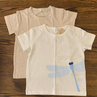 ムジルシリョウヒン(MUJI (無印良品))の無印良品  半袖Tシャツ 2枚 100サイズ(Tシャツ/カットソー)