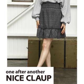 ワンアフターアナザーナイスクラップ(one after another NICE CLAUP)のkawaiiフリルスカート マーメイドスカート(ミニスカート)