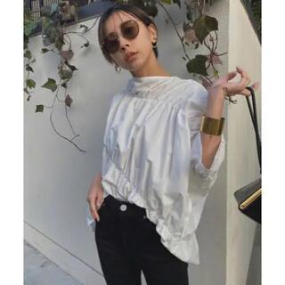 アメリヴィンテージ(Ameri VINTAGE)のAmeri vintage ギャザーシャツ(シャツ/ブラウス(長袖/七分))