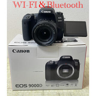 Canon - Canon EOS 9000DズームレンズセットWi-Fi&Bluetooth