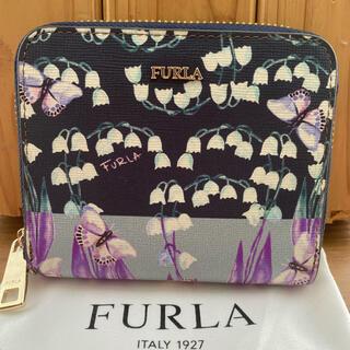 Furla - 美品 フルラ 二つ折り ラウンドファスナー ウォレット