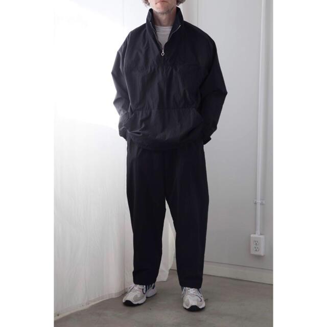 COMOLI(コモリ)の【saki様専用】COMOLI 19AW 製品染ナイロン アノラック パンツのみ メンズのスーツ(セットアップ)の商品写真