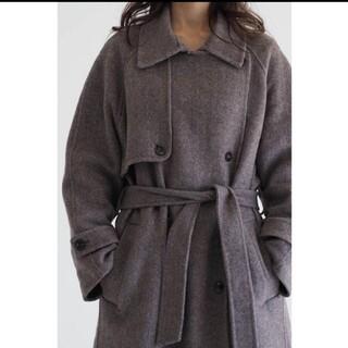 TODAYFUL - na.e Classic handmadeコート Black ウール