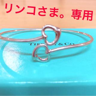 Tiffany & Co. - ティファニー ダブルハートバングル