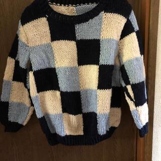 子供用ハンドメイドセーター(外出用品)