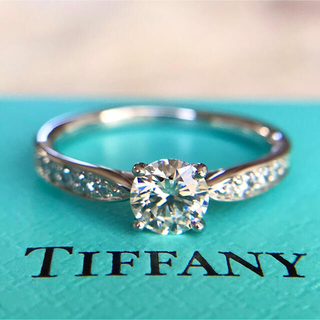 Tiffany & Co. - ティファニー ハーモニー ビーズセッティング ダイヤモンド リング 0.37ct